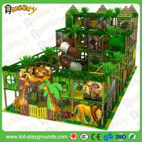 China 100% Safety KFC Kids Residential Indoor Playground Equipment Day Care Centre Indoor Jungle Gym , Indoor Preschool Playgr on sale