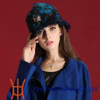 Best Hand Made Winter Women Russian Fur Hats for Party / Wedding / T Show wholesale