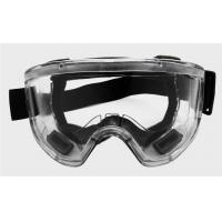 China Clear Lens Industrial Safety Goggles , Scratch Resistant Safety Glasses on sale