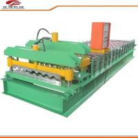 Best 1200 Type Color Sheet Metal Roller Machine 8~15m/Min Speed 18 Rows Roller Station wholesale
