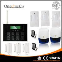 Best Black GSM LCD touch screen Wireless Security Alarm System with APP for house wholesale