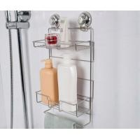 Best RED Warning Push Lock Suction Collection 2 Tier Bathroom storage wholesale