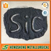 China The manufacturer supply Black Silicon Carbide powder granules on sale