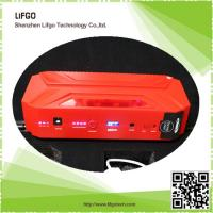Best 12V16500mAh portable rechargable li-po battery pack car emergency jump starter power wholesale
