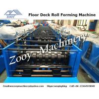 Best Hydraulic Cutting Deck Roll Forming Machine 18 Forming Stations wholesale