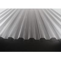 China High Transparency Corrugated Polycarbonate Sheets For Skylights 10 Years Warranty on sale