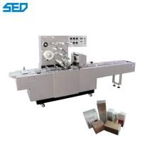 China 25-120 Bags / Min Automatic Cosmetic Cellophane Machine 0.75KW Power 3D Packing on sale