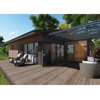 China Exquisite Prefabricated Modular Housing , Modern Ready Made Wooden Houses on sale
