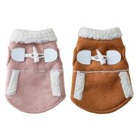 China Motorcycle Vest Cat Winter Clothes , Kittens Wearing Clothes For Small Pet on sale