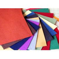 China 100% Viscose Material Red Polyester Felt Fabric Heavy Duty Wiping Rags Colorful on sale