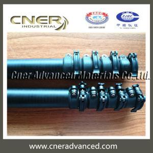 China High quality carbon fiber telescopic pole, cfrp telescopic pole for window cleaning, carbon fibre composite pole on sale