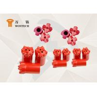 Best High Rigid Drill Rod And Hammer Taper Button Bit Low Carbon Steel Material wholesale