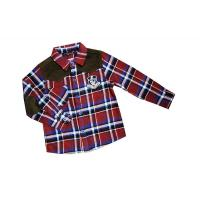 Best Fathion Red, Black, Green Lapel 4 - 15 Year Kids Plaid Shirts, check printing shirts wholesale