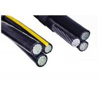 China PVC Insulated aerial XLPE Insulated Power Cable with 0.6/1 KV ABC AAC conductor on sale