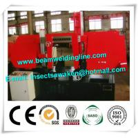 Horizontal Bandsaw Pipe Bevelling Machine For Structural Steel Fabricators