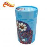 Best Eco Friendly Cardboard Gift Boxes Custom Beautiful Tube Packaging Matt Lamination Printing wholesale