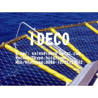 China Wire Mesh Heliport Safety Nets, Offshore Helimesh, Helipad SS316 Wire Rope Mesh, Helideck Perimeter Safety Nets on sale