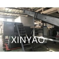 Best Solid Material Single Shaft Plastic Shredder Machine , PP PE PVC ABS Plastic Grinding Machine wholesale