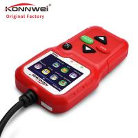 China Hand Held Automobile Diagnostic Code Reader KW590 Detect All 12V Cars After 1996 on sale