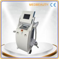 Best 2014 New designed 4 in 1 RF+E-light+IPL+ND YAG LASR fast hair removal beauty machine wholesale