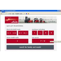 Best Linde Forklift Diagnostic Tools , Linde Lindos 2013 Parts Catalog EPC wholesale