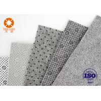 Best Grey White Needle Punched Non Woven Polyester Felt For Shoes Lining Fabric Material wholesale