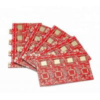 Best Double Sided Pcb Board 1 Day Quick Service Red Soldermask Immersion Gold wholesale
