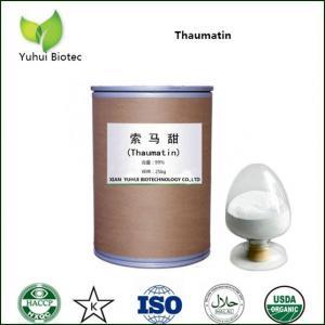 China Thaumatin Sweetener,Thaumatin,Thaumatin 71396-29-7,thaumatin extract powder on sale