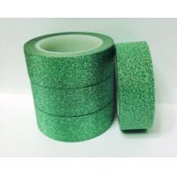 Best Customized offer printing acrylic DIY glitter tape for handcraft wholesale