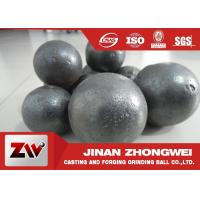 China Durable Cast Iron Forged Steel Grinding Media Balls In Mining Plant on sale