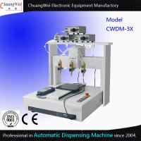Best Three Dispensing Head Automated Dispensing Machines 0.01 Mm / Axis wholesale