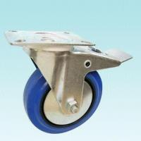Best Swivel Caster with Silver Coated Top Plate wholesale