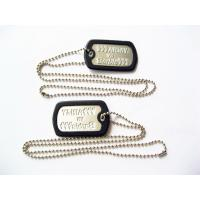 China Fashionable Metal Dog Tags , Personalized Engraved Dog Tags For People on sale