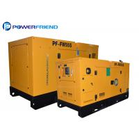 Buy cheap 4 Cylinder 230V / 400V 40KW 50KVA Industrial Diesel Generators 4DX23-65D from wholesalers