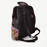Best 2016 new design china style minor enthnic embroidery girls backpack wholesale