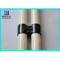 Best Strengthen Black Metal Joint For Industrial Logistic Pipe Rack System HJ-11 wholesale