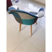 Best patchwork chair LeisureMod Willow Patchwork Fabric Eiffel Accent Chair ,dining chair wholesale