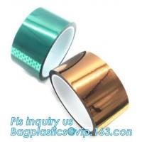 Best Acrylic Polyester Film Tape Double Sided PET Tape for Banner,PET 50mm*50m hot sale security tape for sealing bagease wholesale