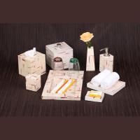 China 8 piece bathroom resin supplies for 5- star hotel on sale