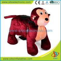 Best Coin Operated Walking Animal Stuffed Animals Plush Wheel Game For Mall wholesale