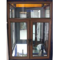 Best 1.4mm profile thickness brand new aluminum casement windows wiht fly screen for commercial wholesale