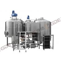 Buy cheap Pub 40 BBL Brewhouse Steam Heated , Pub Brewery Equipment Stainless Steel With Three Tanks product