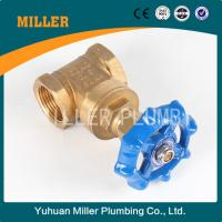 Best made in china 3 inch brass gate valve for water meter  ML-1005 wholesale