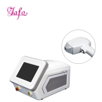 Buy cheap Portable Big spot size 3 wave length 755nm 808nm 1064nm diode laser for Hair from wholesalers