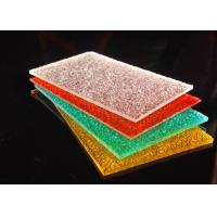 Best Colorful Diamond Surface Polycarbonate Solid Sheet Lightweight 2-12mm wholesale