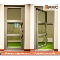 China Single Pane Internal Aluminium Glass Doors For Residential House Color Optional Types of hinges Doors Hinges Doors price on sale