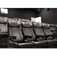 Best Attractive Cinema 4D Cinema System, 4D Theater with Pneumatic/Hydraulic/Electric Motion Chair wholesale