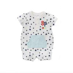Best Unisex1 Piece Infant Baby Clothes 0-24M Size Breathable Eco Friendly wholesale