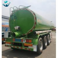 China High quality 3 axle 40t Stainless Steel Oil Mud Vacuum Suction tanker semi trailer for sale on sale