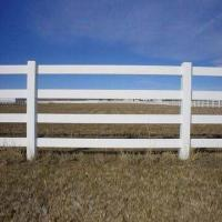 Best PVC horse fence, 2, 3 and 4 rails are available, UV-resistant and flexible wholesale